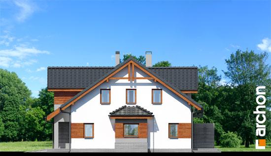Elewacja boczna projekt dom w klematisach 9  265