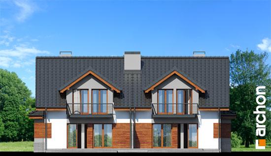 Elewacja ogrodowa projekt dom w klematisach 9  267