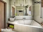 projekt Dom w klematisach 9 Wizualizacja łazienki (wizualizacja 1 widok 2)