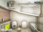 projekt Dom w klematisach 9 Wizualizacja łazienki (wizualizacja 1 widok 5)
