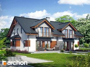 projekt Dom w klematisach 9 widok 2