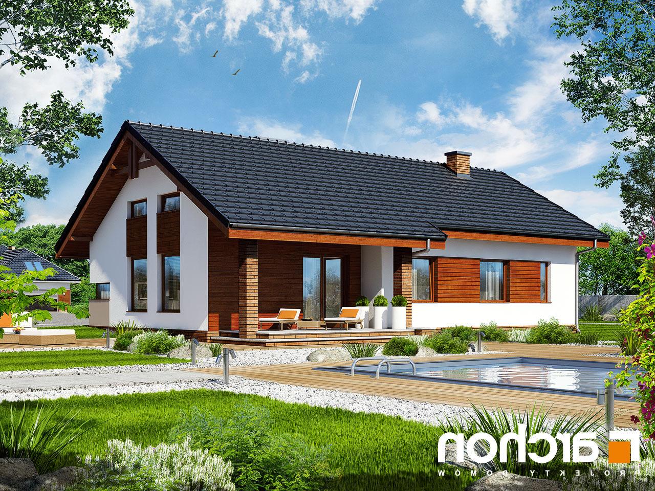 Projekt domu dom w palisandrach archon for Case interne