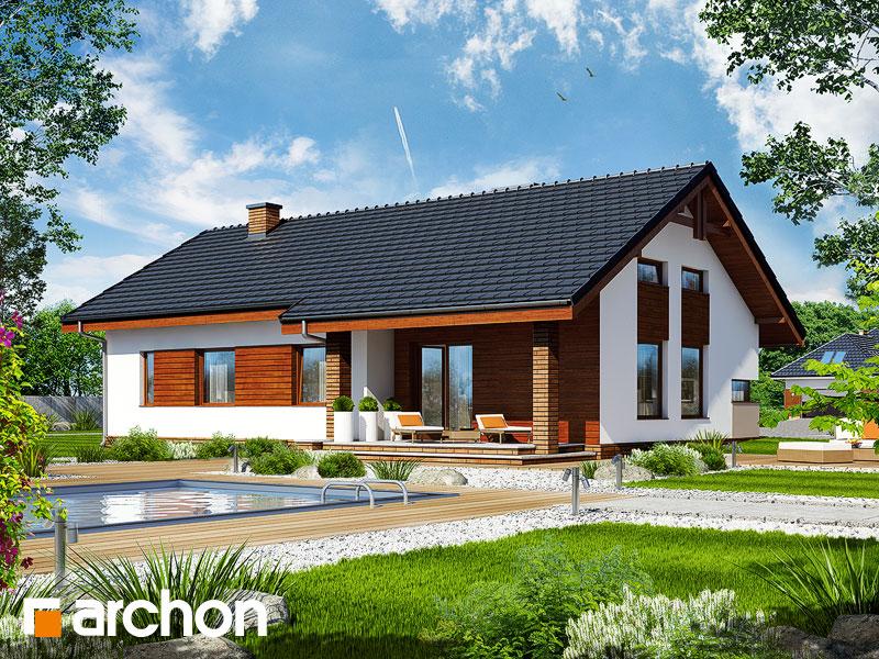 gotowy projekt Dom w palisandrach widok 1
