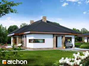gotowy projekt Dom w cyprysikach