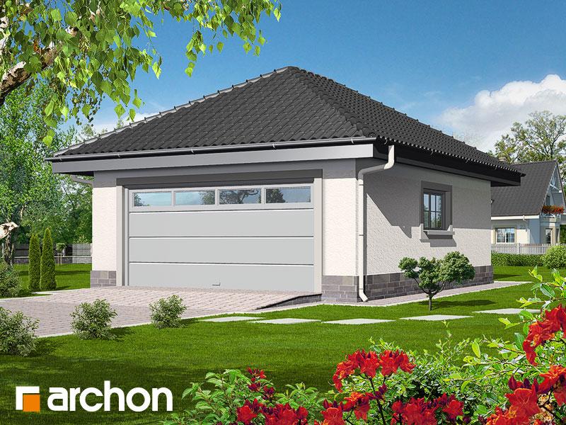 Projekt Garażu Garaż 2 Stanowiskowy G1a Archon