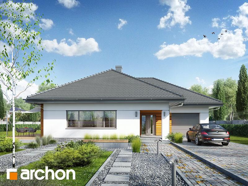 gotowy projekt Dom w lilakach 4 (G) widok 1