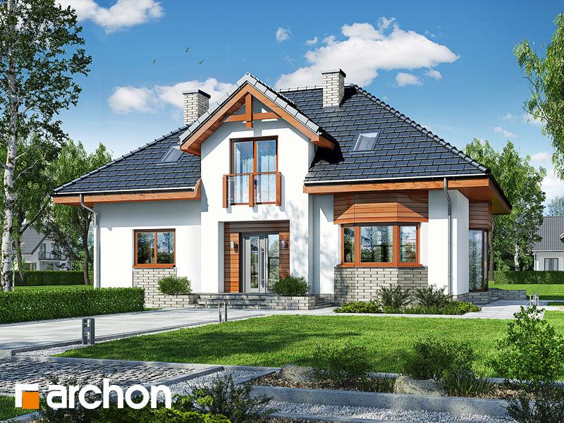 gotowy projekt Dom w kalateach 2 (W) widok 1