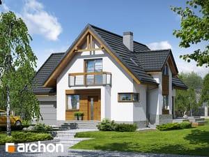 gotowy projekt Dom w morelach (N)