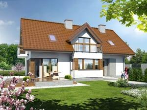 gotowy projekt Dom w majeranku 2 (N)
