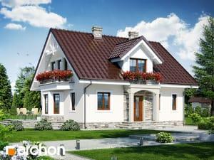 projekt Dom w rododendronach 6 (W)
