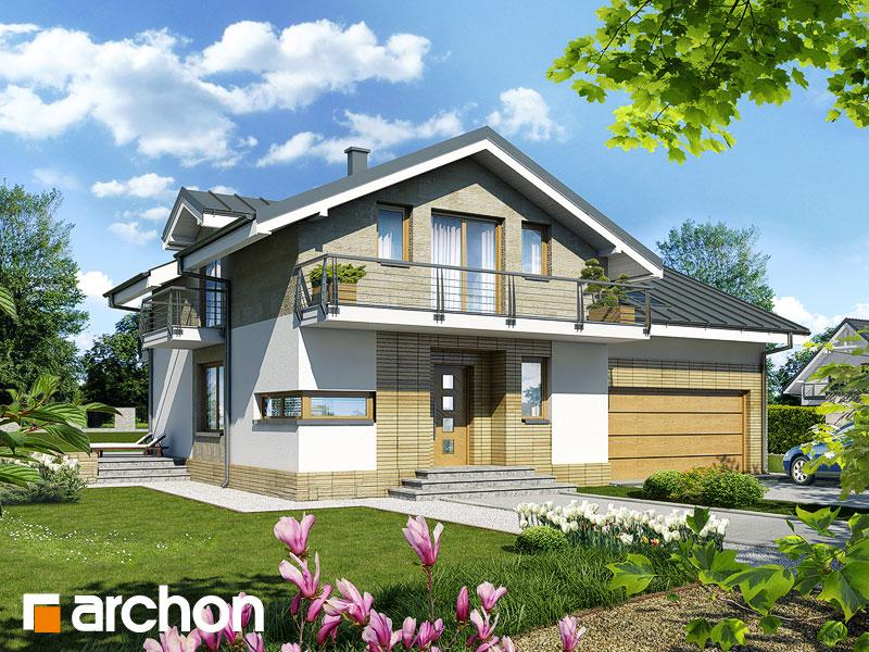 projekt Dom w budlejach (G2) widok 1