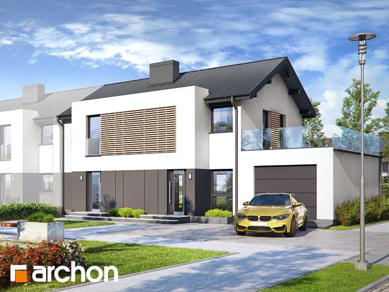 gotowy projekt Dom w tawlinach (GR2B) widok 1