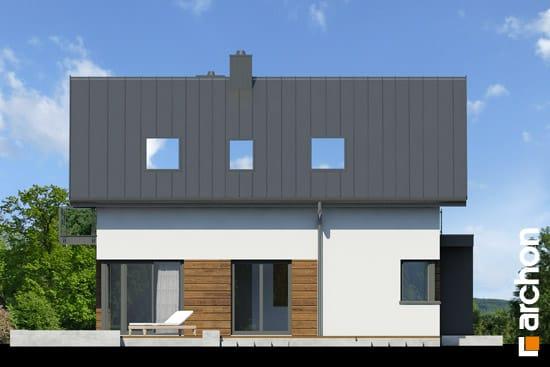 Elewacja boczna projekt dom pod graviola  266