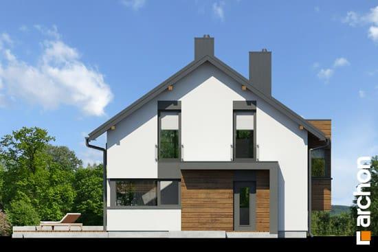 Elewacja frontowa projekt dom pod graviola  264
