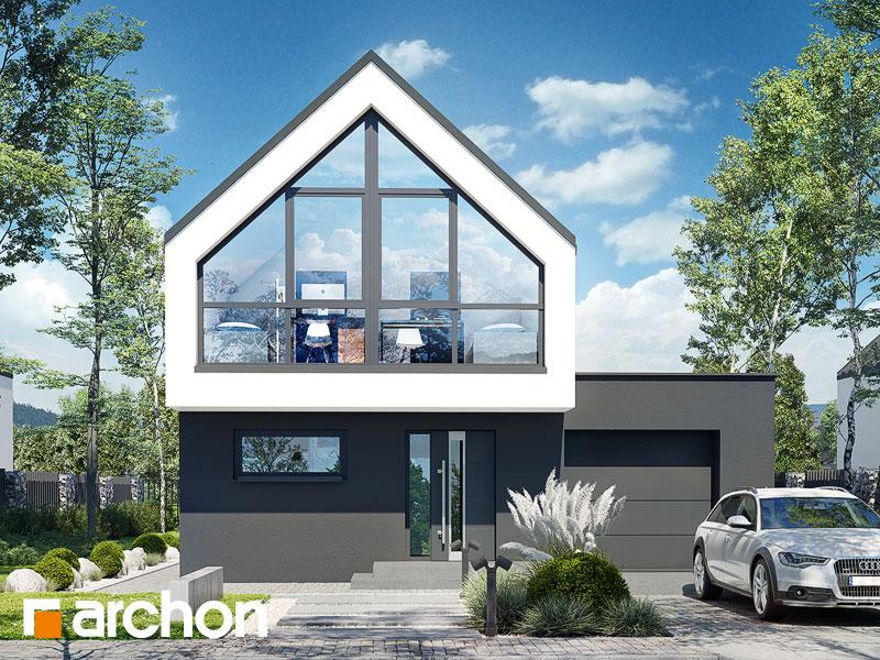gotowy projekt Dom w muszkatach widok 1