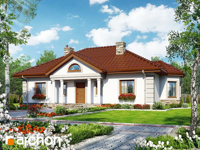 gotowy projekt Dom pod jarząbem 14 widok 1