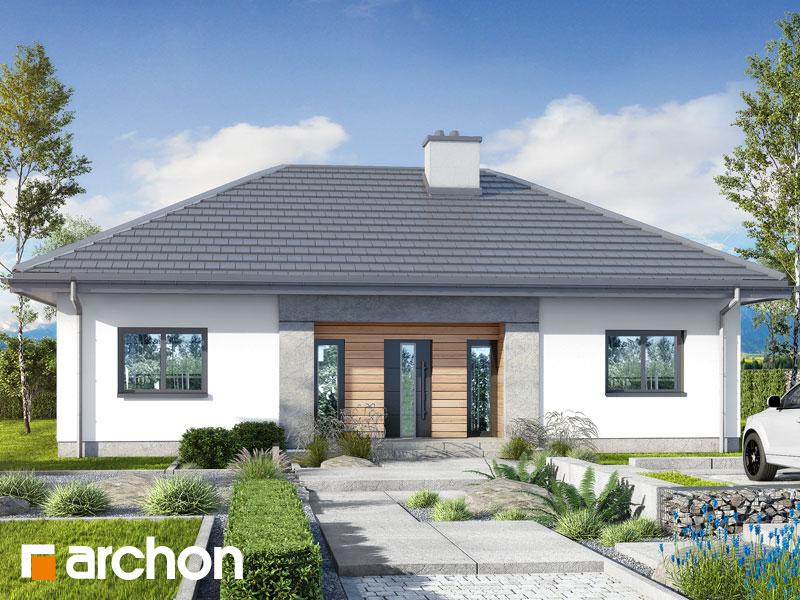 gotowy projekt Dom w kostrzewach 6 widok 1