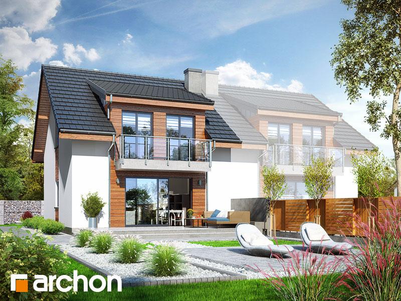 Widok 2 projekt dom w klematisach 20 b  290