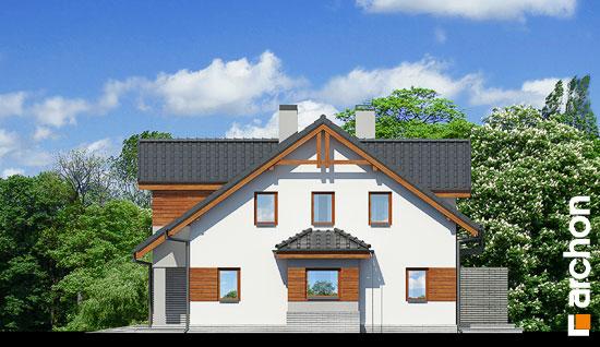 Elewacja boczna projekt dom w klematisach 9 b ver 2  265