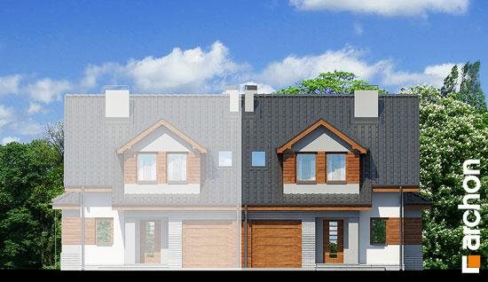 Elewacja frontowa projekt dom w klematisach 9 b ver 2  264