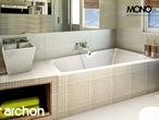 projekt Dom w klematisach 9 (B) Wizualizacja łazienki (wizualizacja 1 widok 1)
