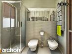 projekt Dom w klematisach 9 (B) Wizualizacja łazienki (wizualizacja 1 widok 4)