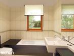 projekt Dom w klematisach 9 (B) Wizualizacja łazienki (wizualizacja 4 widok 1)