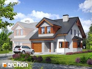 projekt Dom w klematisach 9 (B)