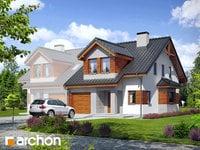 projekt Dom w klematisach 9 (B) widok 1
