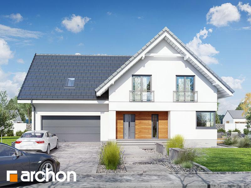 gotowy projekt Dom w orliczkach (G2PA) widok 1