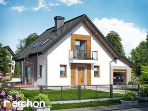 gotowy projekt Dom w rododendronach 4 (NT)