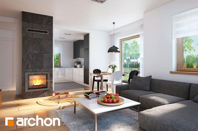 Projekt domu dom w rododendronach 4 nt archon for 15 115 salon kosmetyczny opinie