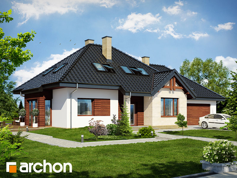 gotowy projekt Dom w indygowcach (G2) widok 1