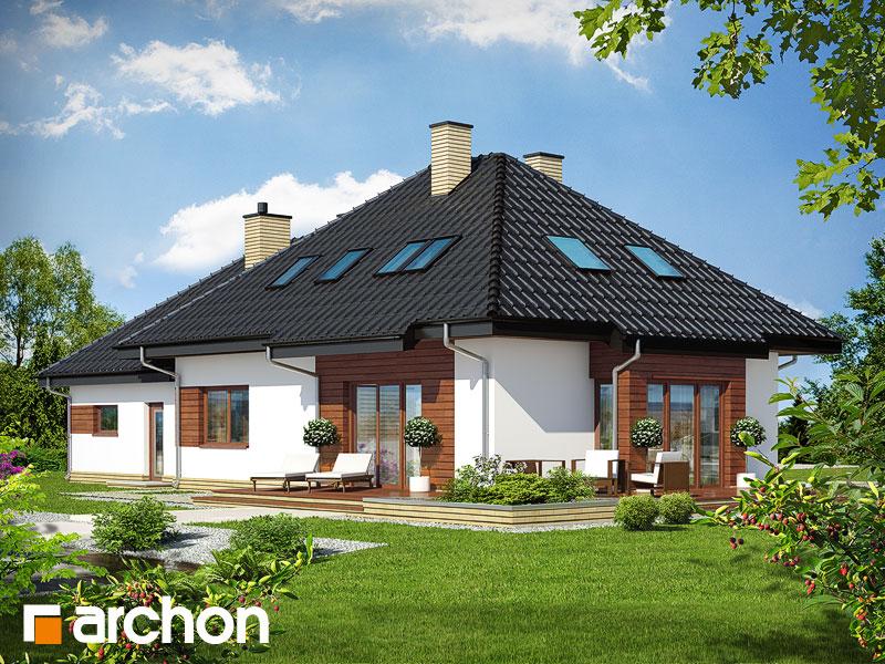 gotowy projekt Dom w indygowcach (G2) widok 2