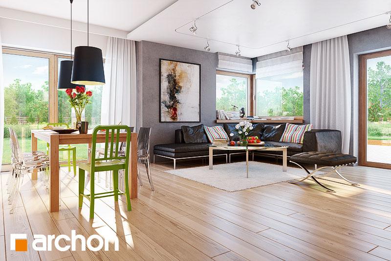 Projekt domu Dom w modrzykach Koszty budowy - ARCHON+