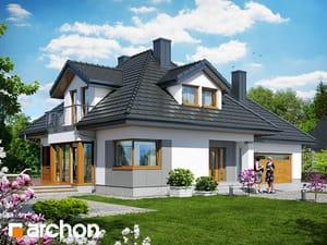 gotowy projekt Dom w czarnuszce 2 (G2)