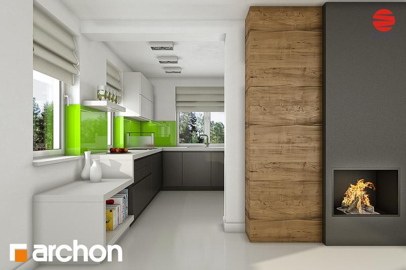 Projekt domu Dom w rezedach ver 2 Koszty budowy  ARCHON+