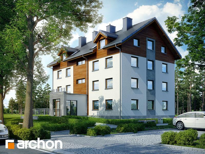 gotowy projekt Dom nad bulwarem 15 widok 1