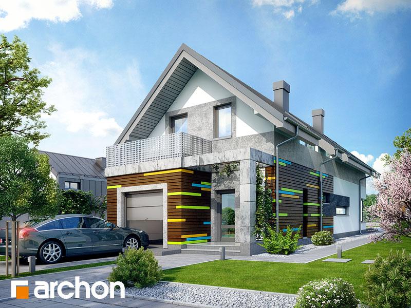 gotowy projekt Dom pod surmią widok 1