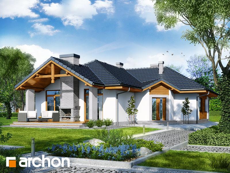 gotowy projekt Dom w salsefiach widok 1