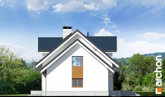 Elewacja boczna projekt dom w rododendronach 6 g2n ver 2  265