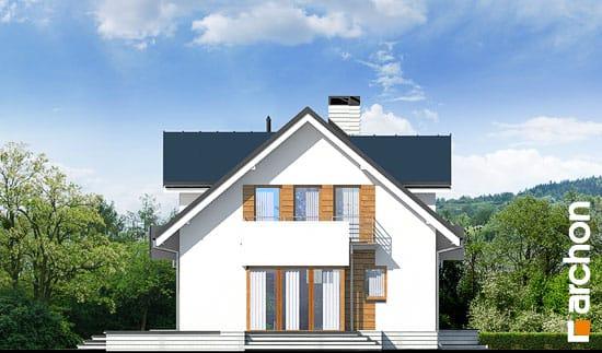 Elewacja boczna projekt dom w rododendronach 6 g2n ver 2  266