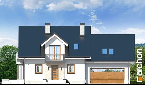Elewacja frontowa projekt dom w rododendronach 6 g2n ver 2  264