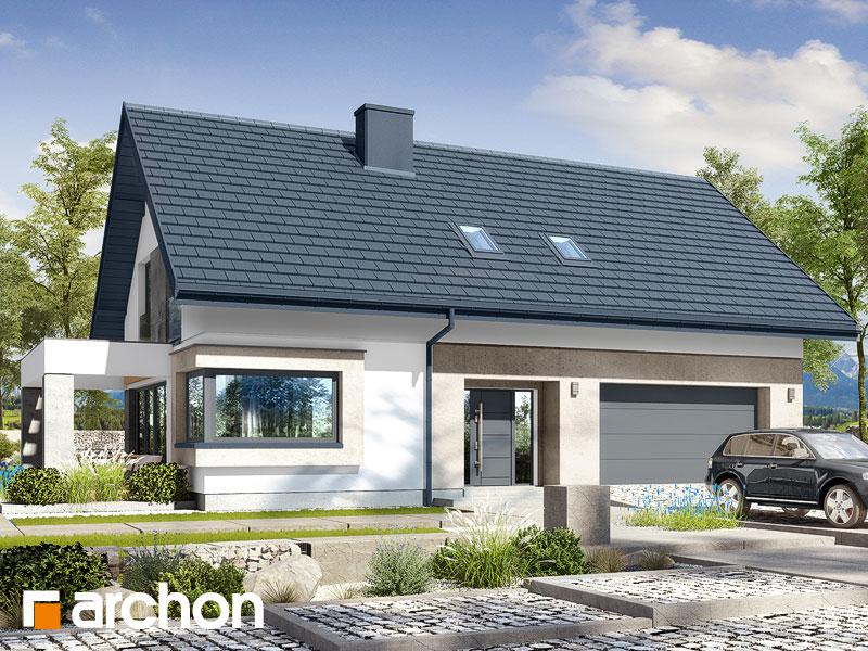 gotowy projekt Dom w zdrojówkach 8 (G2) widok 1