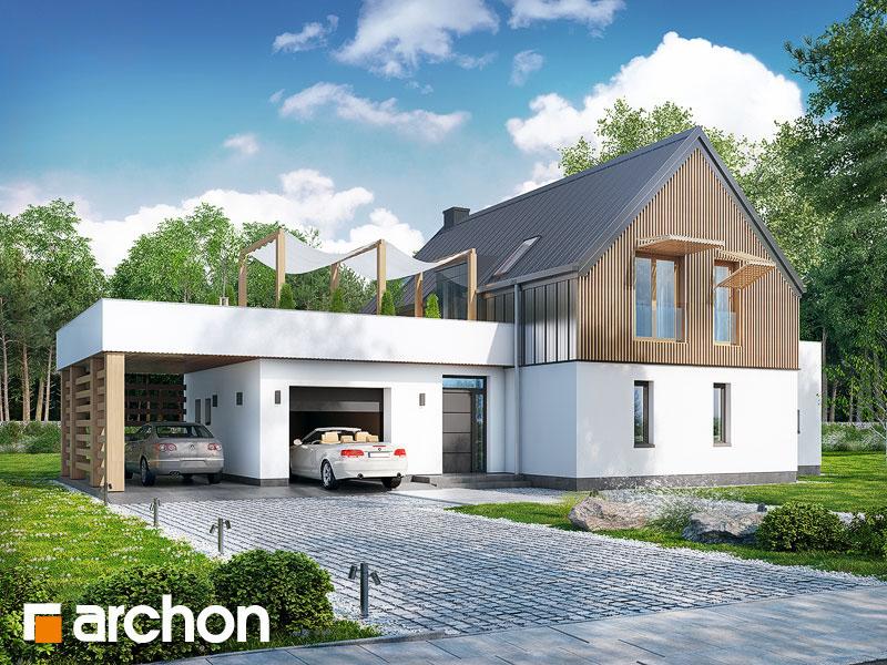 gotowy projekt Dom w batatach widok 1