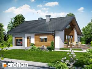 gotowy projekt Dom w gloksyniach
