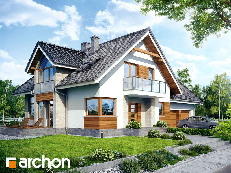 gotowy projekt Dom w oregano (N) widok 1