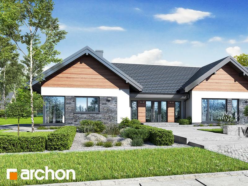 gotowy projekt Dom w kliwiach 9 (G2) widok 1