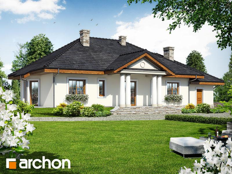 gotowy projekt Dom w gaurach 2 widok 1