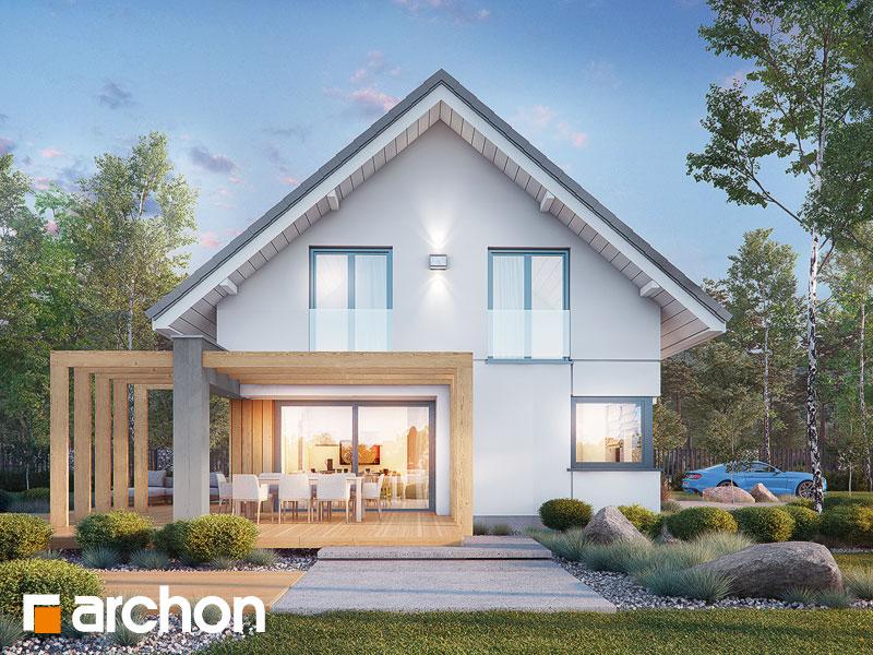gotowy projekt Dom w losanach 2 (G2) widok 1